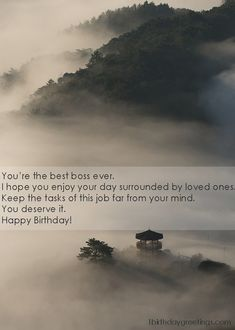 Best Happy Birthday Wishes for Boss who lead you on Everytime