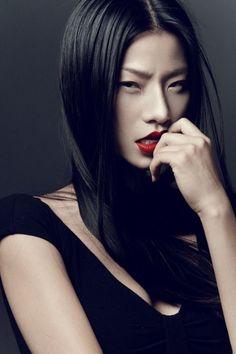 * asian models *