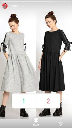 Купить теплое платье на флисе RIVA меланжевого цвета в брендовом бутике TM CARDO