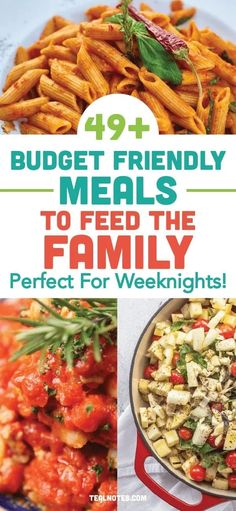 49 Cheap Dinner Ideas To Stay Within Your Meal Budget— Quick And Easy Dinner Recipes