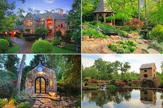 cool home and gardens