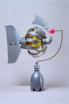 windspiel aus plastikflaschen wind chimes made of plastic bottles pet pinterest windrad. Black Bedroom Furniture Sets. Home Design Ideas