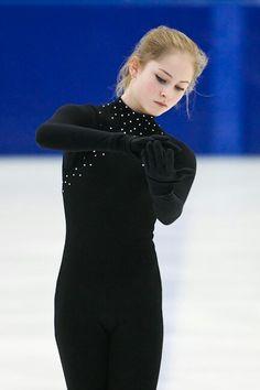 Julia Lipnitskaia. Novogorsk      Юлия Липницкая. Контрольные прокаты. Новогорск