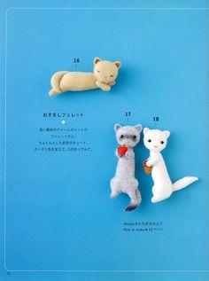 CUTE FELT ANIMALS n32634 Craft Book | Crafts, Felt and Felt animals