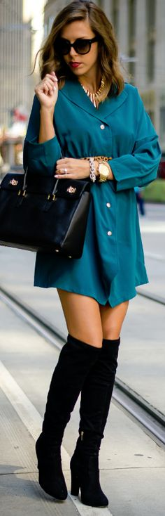 Emerald Dress / Fashion By For The Love Of Fancy
