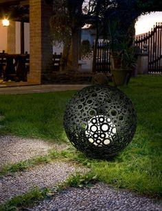 Illuminated globes by Eglo Lighting