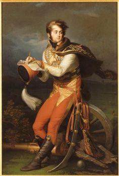 Portrait de Louis-François, baron Lejeune - Jean-Urbain Guérin.