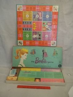 1960S Board Games | Vintage 1960s barbie Board Game Mattel... IN SEARCH OF THIS VINTAGE GAME, BUT GARAGE SALES ARE HERE SO MaYbE I WILL FIND ONE, SMILES... YOU HAVE 1 YA MAY WANNA SALE FOR A GOOD PRICE? JUST LET ME KNOW PLEASE?