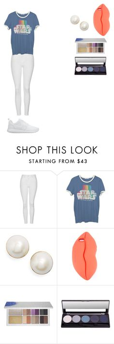 """Gym Day"" by clay263659 ❤ liked on Polyvore featuring Topshop, Junk Food Clothing, Kate Spade, STELLA McCARTNEY and NIKE"