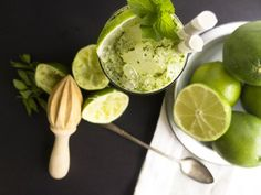 mint lime mojito: Clean cocktails