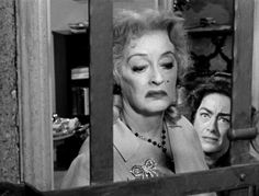 Bette & Joan in 'Whatever Happened to Baby Jane?', 1962...