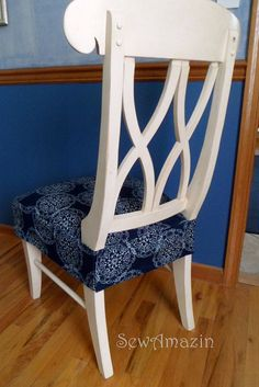 Kitchen chairs chair slipcovers and slipcovers on pinterest