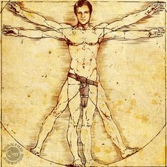 Nathan Fillion as Leonardo da Vinci Perfect Man