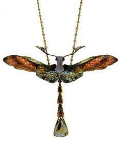 Philippe Wolfers Art Nouveau Jewelry. #jewelersnearme Victorian Jewelry, Antique Jewelry, Vintage Jewelry, Vintage Necklaces, Art Nouveau Jewelry, Jewelry Art, Jewelry Design, Jewelry Crafts, Insect Jewelry