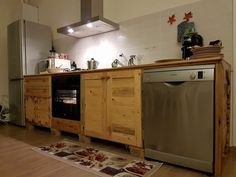 Cucina in #pallet