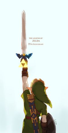 lulles: Happy 35th Anniversary The Legend of Zelda The Legend Of Zelda, Legend Of Zelda Breath, Overwatch, Oot Link, New Profile Pic, Master Sword, Ben Drowned, Achievement Hunter, 35th Anniversary