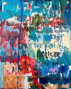 """Saatchi Art Artist Niki Hare; Painting, """"Time and Space"""" #art"""