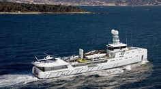 High-Class finish on Damen SEA AXE Fast Yacht Support vessels. http://www.damen.nl/markets/yachting