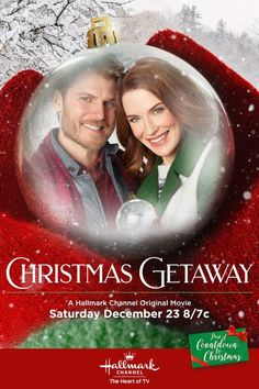 "Its a Wonderful Movie - Your Guide to Family and Christmas Movies on TV: Christmas Getaway - a Hallmark Channel Original ""Countdown to Christmas"" Movie starring Bridget Regan, Travis Van Winkle, & Teryl Rothery! Hallmark Channel, Films Hallmark, Hallmark Holiday Movies, Hallmark Weihnachtsfilme, Christmas Movies On Tv, Hallmark Holidays, Bridget Regan, Streaming Vf, Streaming Movies"