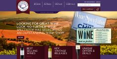 Redesign for Grapeswine.com! Small Business Marketing, The Selection, Projects, Log Projects