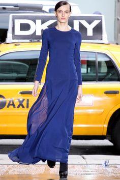 gorgeous blue dress by DKNY