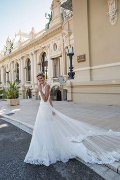 A-line wedding dress | fabmood.com #weddingdress #weddingdresses #bridalgown #weddinggown #weddinggowns