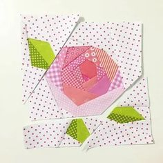 Paper Pieced Quilt Patterns, Jelly Roll Quilt Patterns, Colorful Quilts, Small Quilts, Quilting Projects, Quilting Designs, Pach Aplique, Watercolor Quilt, Flower Quilts
