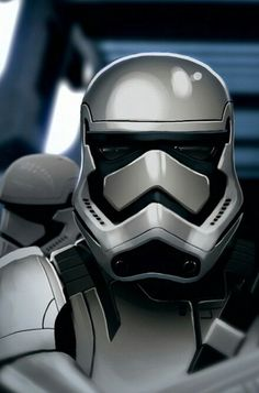 Star Wars Episode 7 the force awakens. New style stormtroopers.