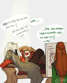 Just another day in Mirkwood. By cccrystalclear