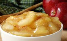 cubos de maçã doce - 3