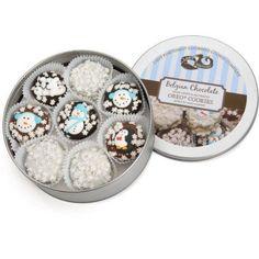 Christmas Oreo Cookie Tin – Set of 16