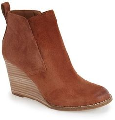 Lucky Brand 'Yoniana' Wedge Bootie (Women)