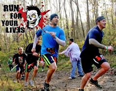 Zombie Buffet 5k. Seriously want to start training for this in October