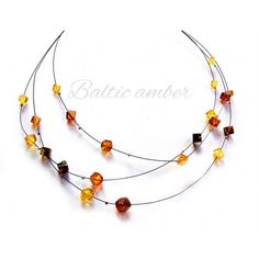 Baltic Amber is the only type of amber you should use for healing. Baltic Amber Necklace, Beaded Necklace, Jewelry, Mesh, Chains, Beaded Collar, Jewlery, Pearl Necklace, Jewerly
