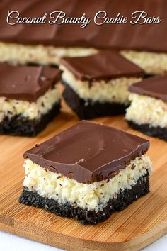 Easy Desserts, Delicious Desserts, Dessert Recipes, Bar Cookie Recipes, Bar Recipes, Cheese Recipes, Paleo Recipes, Recipies, Rock Recipes
