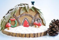 Gingerbread Gnome Home for the Etsy Blog! @FoodBlogs