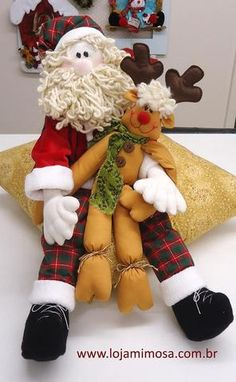 Outside Christmas Decorations, Christmas Crafts, Reindeer, Snowman, 4th Of July Wreath, Santa, Dolls, Teddy Bear, Home Decor