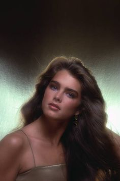 Brooke Shields images Brooke Shields wallpaper and background photos // Evelyn Sader Brooke Shields Jovem, Brooke Shields Young, Aesthetic Hair, Dream Hair, Grunge Hair, Pretty Face, Hair Looks, Pretty People, Hair Inspiration