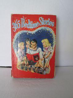 365 Bedtime Stories 1944 Hardcover