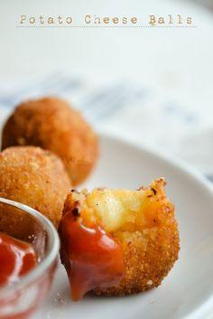 Potato Cheese Balls | kurryleaves