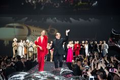 Michael Kors Fetes 'Jet Set Experience' in Shanghai - Slideshow.  The scene at the Michael Kors show in Shanghai.