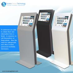 If #customers are able to obtain their own #information from a #kiosk - in essence, to #sell themselves on the #products - then the need for #salespeople and other in-store #personnel inevitably #decreases. #TucanaGlobalTechnology #Manufacturer #HongKong