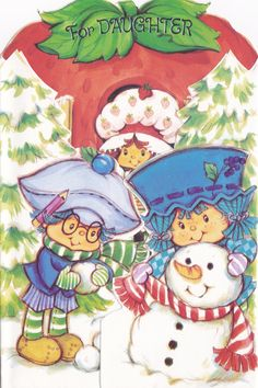 Rare Xmas Card from UK (at least that's where I bought it, don't know if that's where it originally came from)