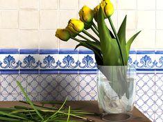 Azulejos Cerámicos Serie Alcora Araya 205 Estancias:Cocinas            Paredes decorativas con ceramica de diseño en cocinas rusticas ...