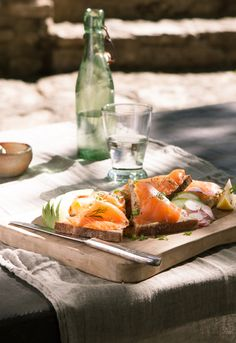 Smoked salmon tartine, Le Pain Quotidien - Bakery & Communal Table