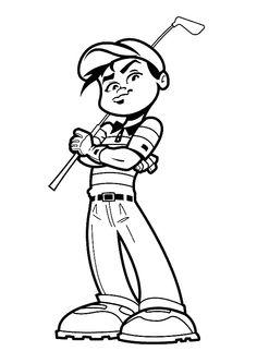 Dibujos para Colorear Deportes 23