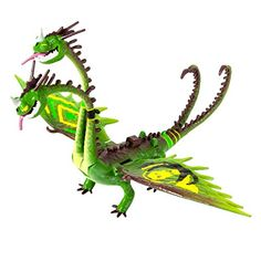 Amazon.com: Dreamworks Dragons How to Train Your Dragon 2 Power Dragon Zippleback: Racing Edition Action Figure: Toys & Games - $28