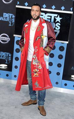 French Montana at 2017 BET Awards