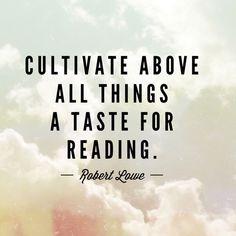 Robert Lowe #reading #quote