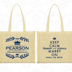 Wedding Bags, Tote Bags, Wedding Tote Bags, Personalized Tote Bags, Custom Tote Bags, Wedding Welcome Bags, Wedding Favor Bags (598)